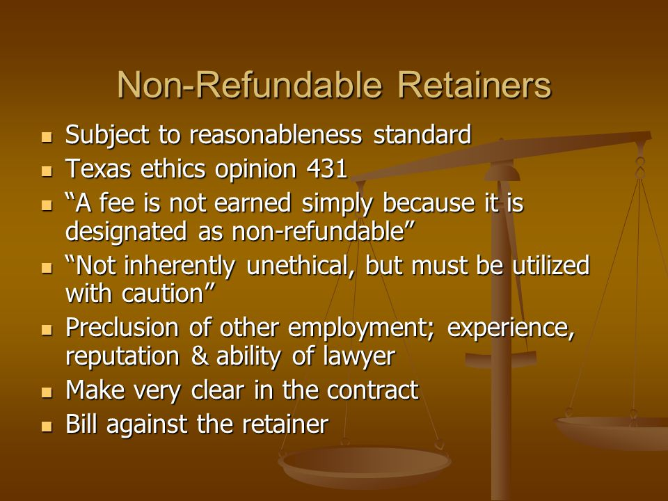 Rule 8a capped referral fees at 15% of the total fee or $50,000, whichever was LESS