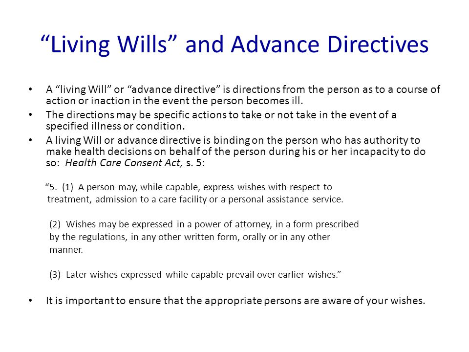 What is a legal Will in Ontario.