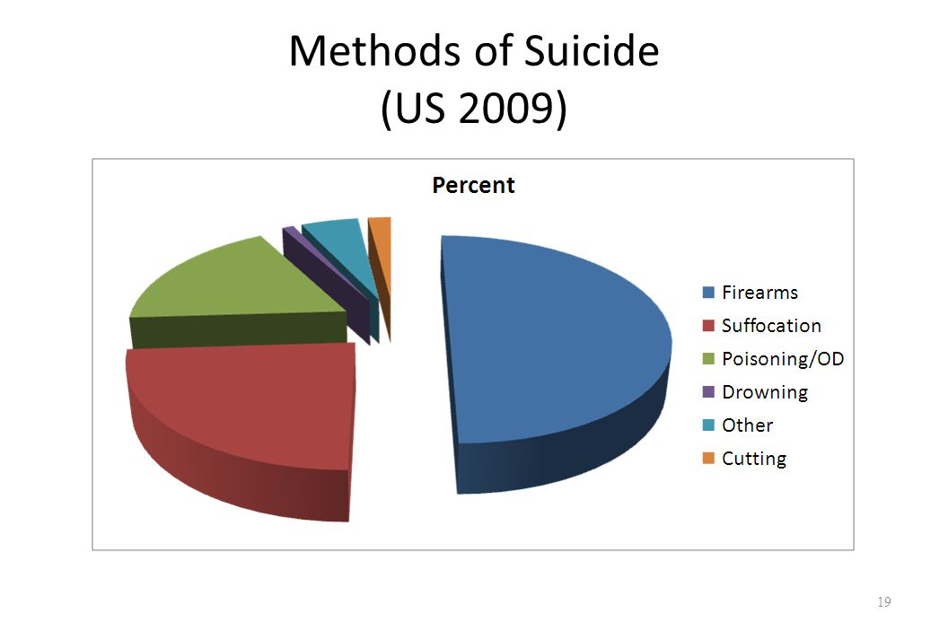 Methods of Suicide (US 2009) 19
