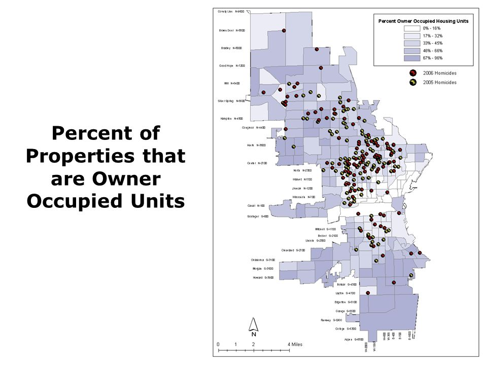 Percent of Properties that are Owner Occupied Units