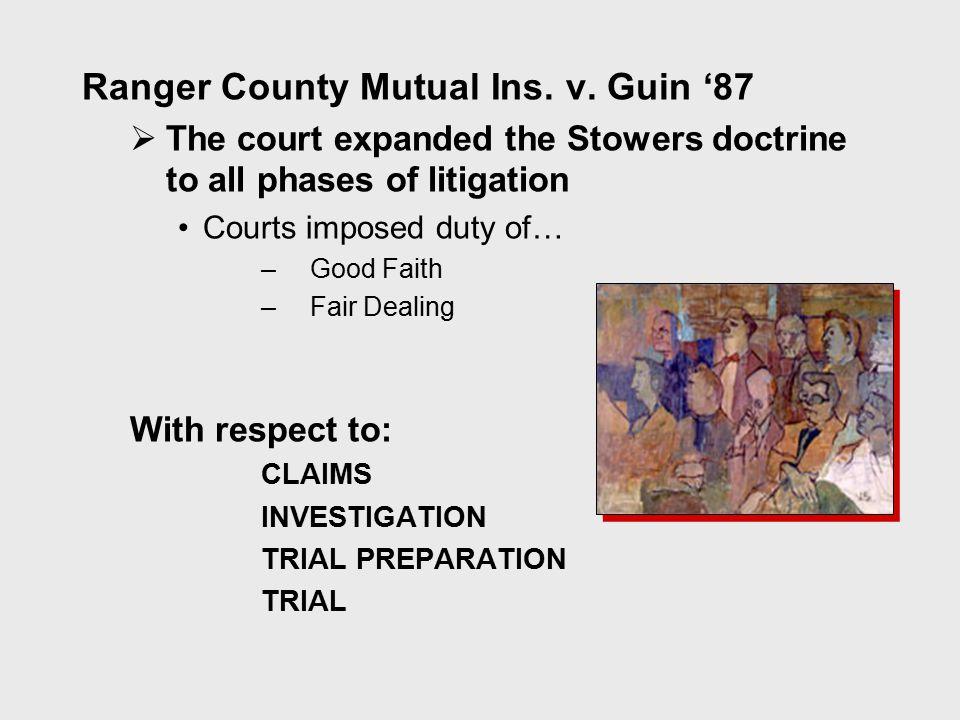 Ranger County Mutual Ins. v.