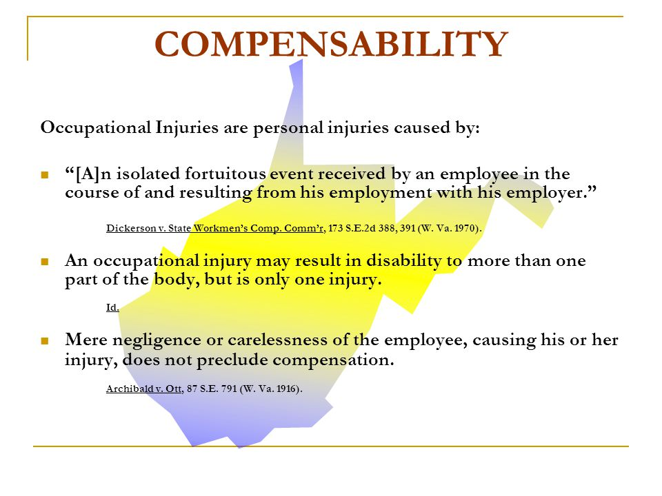 Whether the injury occurred so as to be compensable depends upon the particular facts in each case, and may not be resolved by any fixed rule or formula.