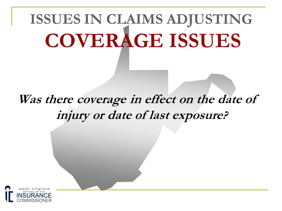 ISSUES IN CLAIMS ADJUSTING DECISIONS DISCUSSION