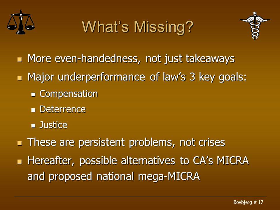 Bovbjerg # 17 What's Missing.