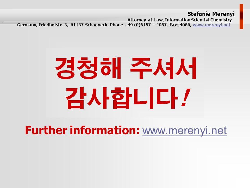 Further information: www.merenyi.netwww.merenyi.net