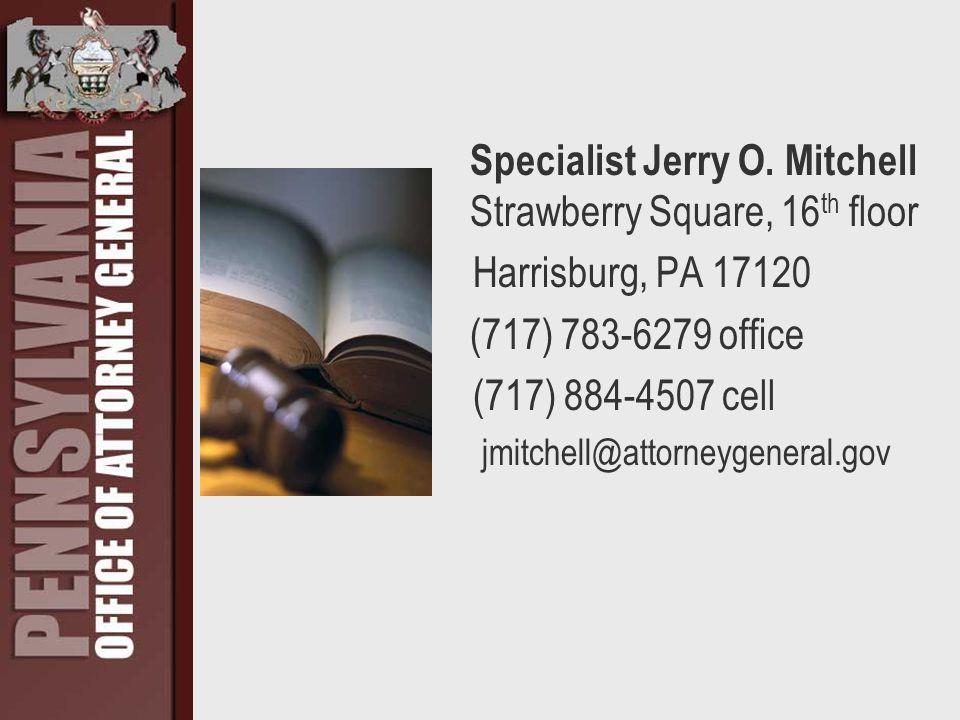 Specialist Jerry O.