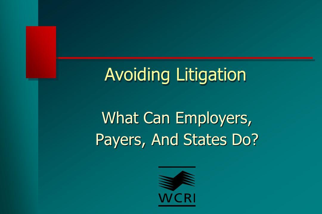 Workers Believed Supervisors Distrust Legitimacy Of Claim – 12-20% Of Cases
