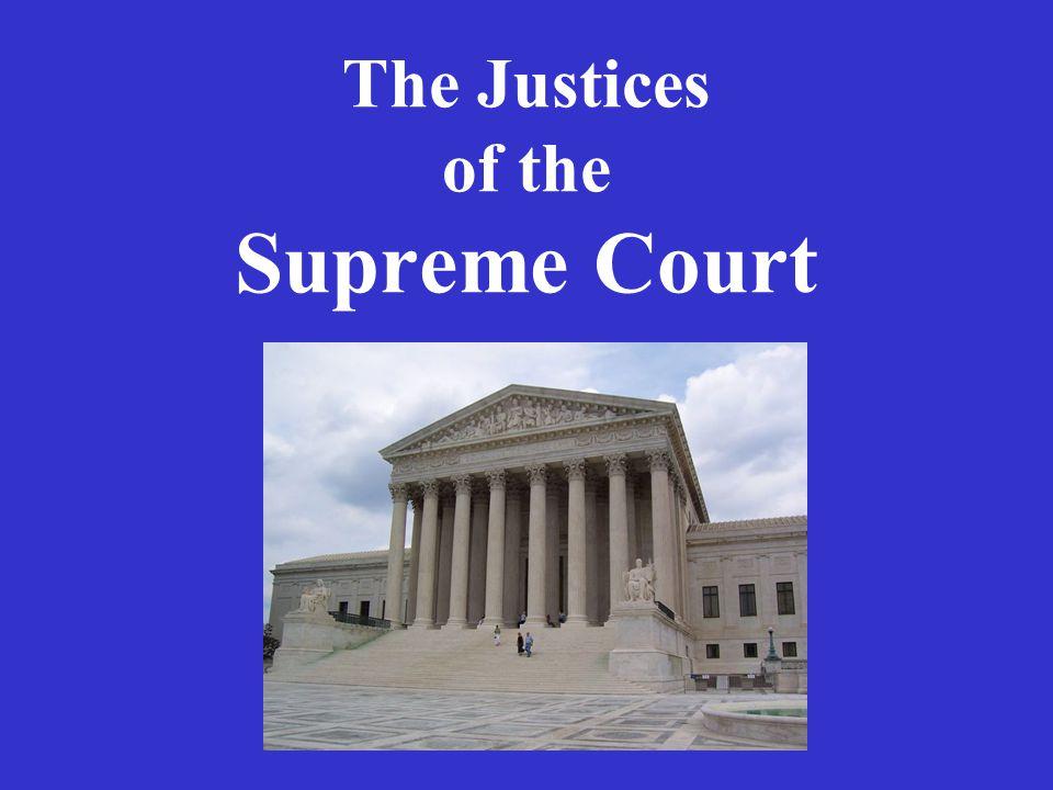 David Souter Born 1939 Lawyer Judge N.H. Attorney General N.