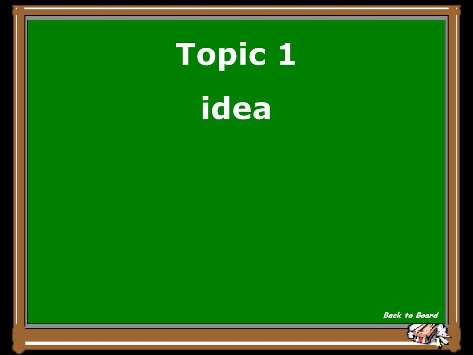 Topic 1 A bill first starts off as a _____________ by a citizen. Show Answer