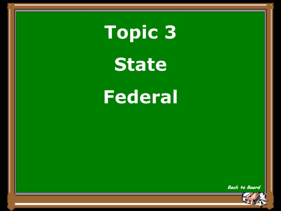Topic 3 There are 2 basic court systems in the United States Show Answer