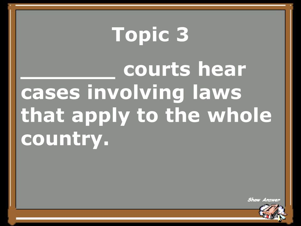 Topic 3 State Back to Board