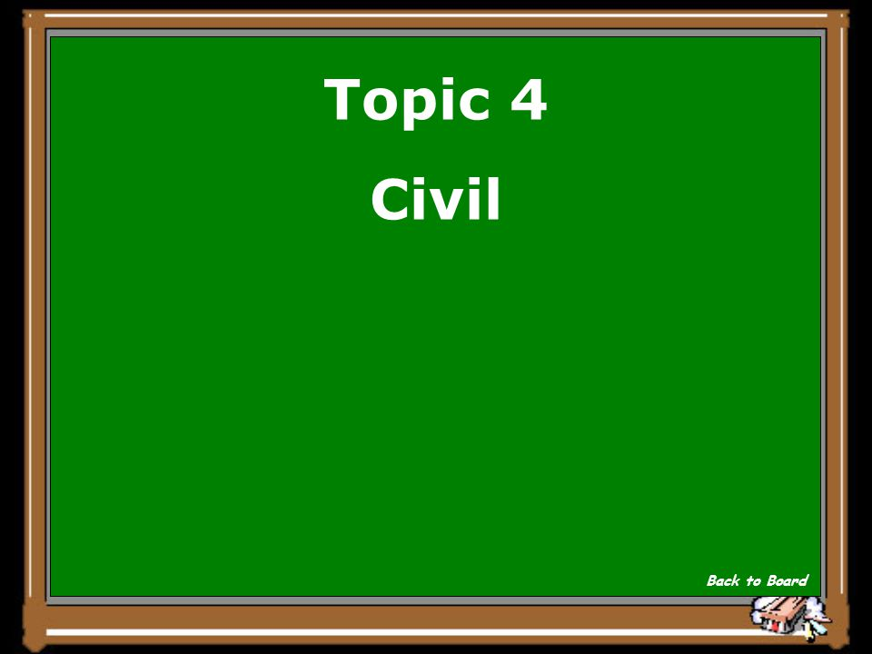 Topic 4 __________ cases are brought by one party against the other. Show Answer
