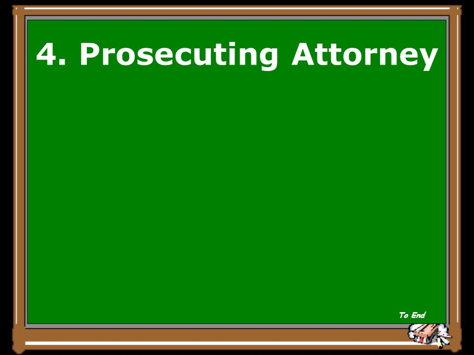 Which is never present in a civil trial.