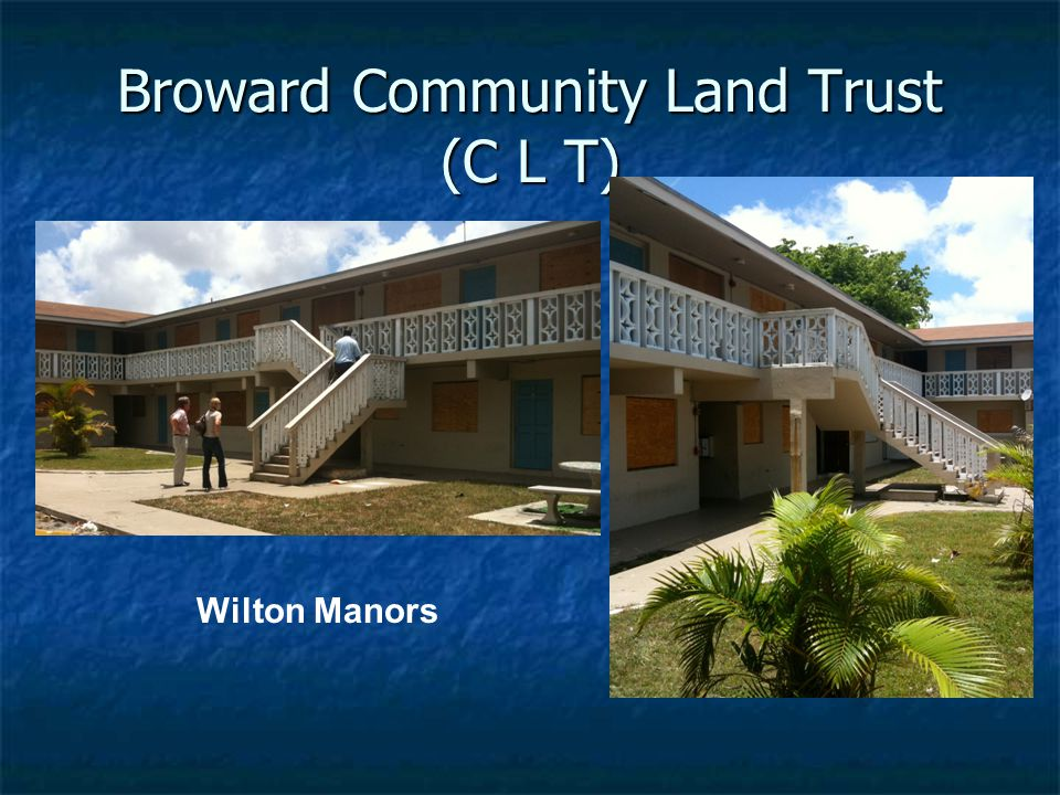 Broward Community Land Trust (C L T) Wilton Manors