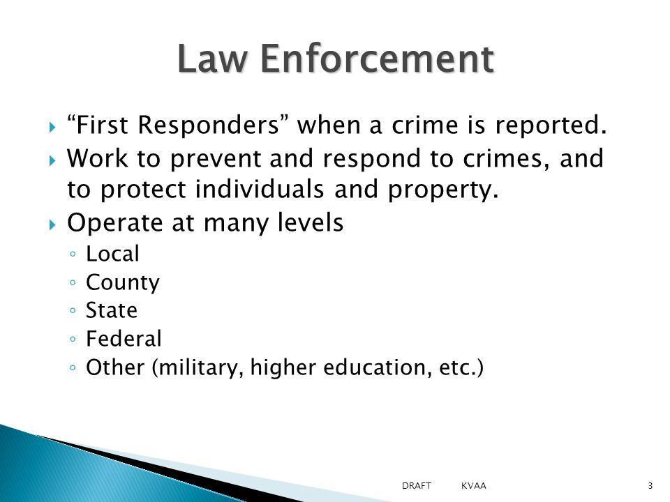  Violation  Misdemeanor  Felony Types of crimes 14DRAFT KVAA