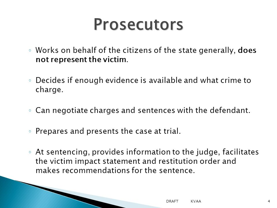  Explain the purpose of the grand jury, the participants and possible results  Explain what occurs at arraignment  Explain the purpose and identify different types of pretrial hearings  Define and explain plea negotiation  List the advantages of the VINE Court Hearing Notification Learning Objectives 2.3: Grand Jury and Pre-trial Proceedings Learning Objectives 2.3: Grand Jury and Pre-trial Proceedings 25DRAFT KVAA