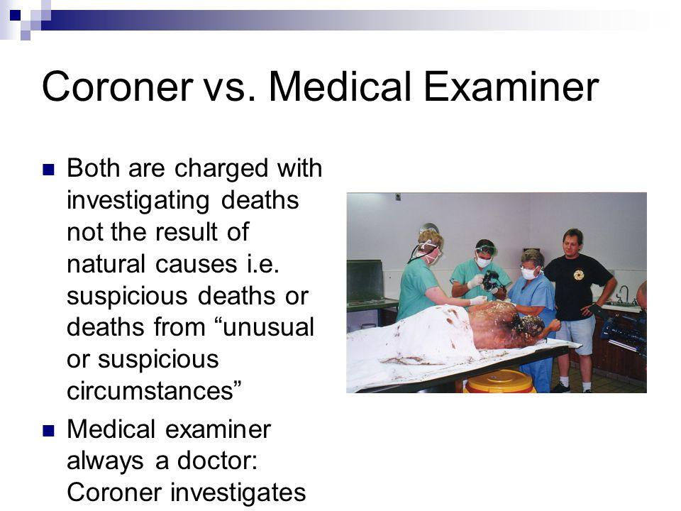 Coroner vs.