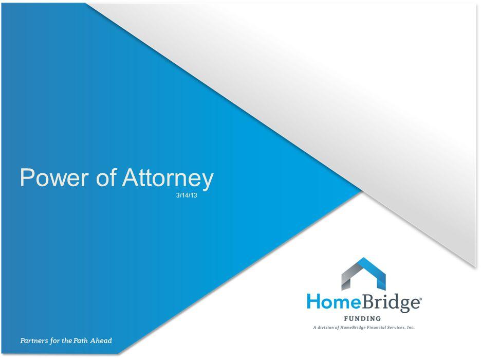 Power of Attorney 3/14/13