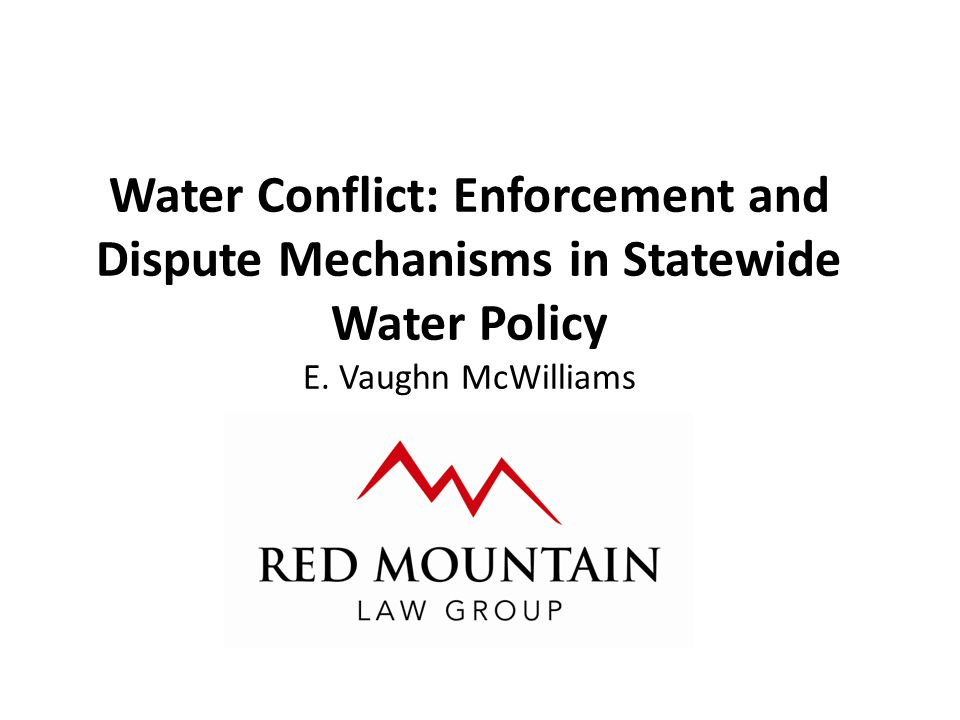 Criminal Enforcement – Revocation of Permits State Agency is authorized to revoke a permit for: Unlawful act under the Code Willful violation of the Code or terms of a permit Whenever necessary to prevent an unreasonable injury to a holder of another water right