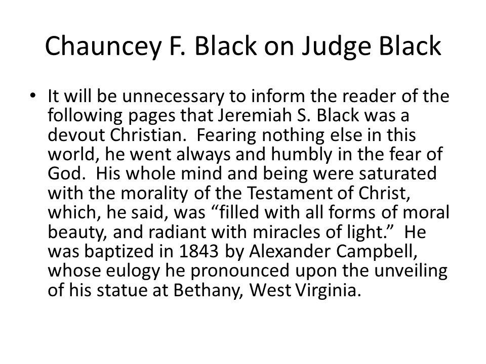 Chauncey F.
