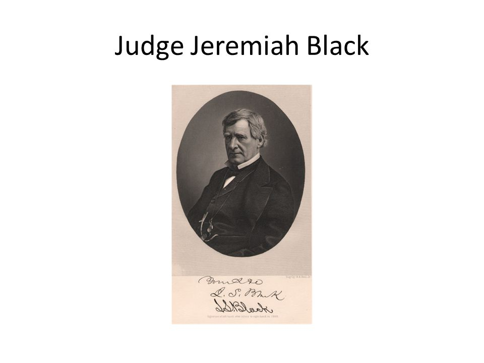 Judge Jeremiah Black