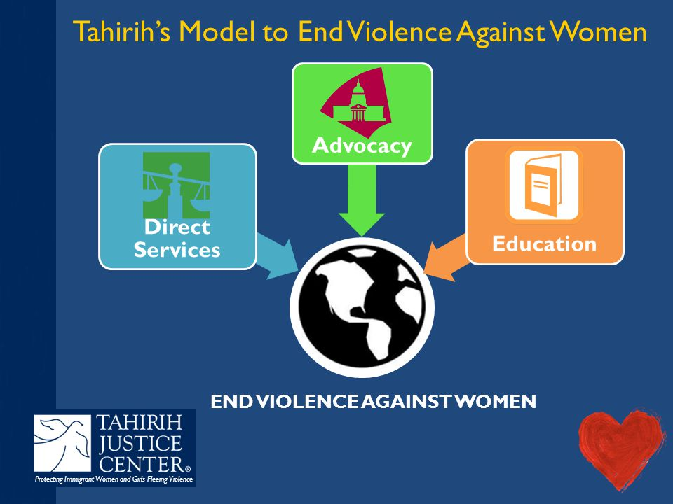 Protecting Immigrant Women and Girls Fleeing Violence I am a #BigheartedAttorney Have a Facebook or Twitter account.