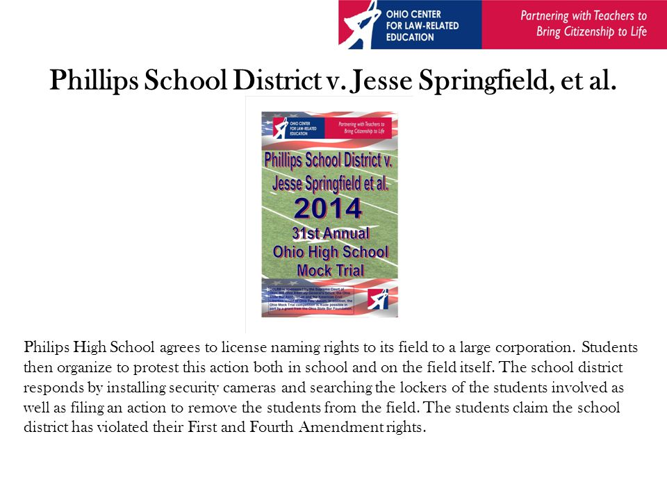 Phillips School District v. Jesse Springfield, et al.