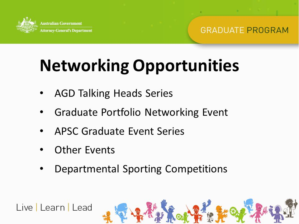 Networking Opportunities AGD Talking Heads Series Graduate Portfolio Networking Event APSC Graduate Event Series Other Events Departmental Sporting Co