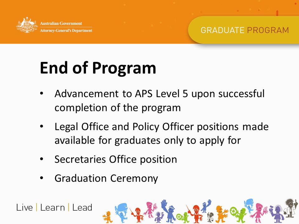 Parliament of Australia Graduate Program House of Representatives and Department of the Senate placements Three month duration
