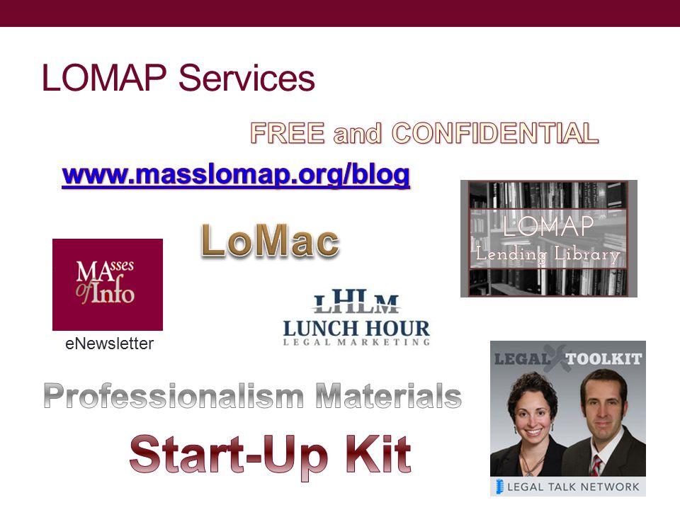 LOMAP Services eNewsletter