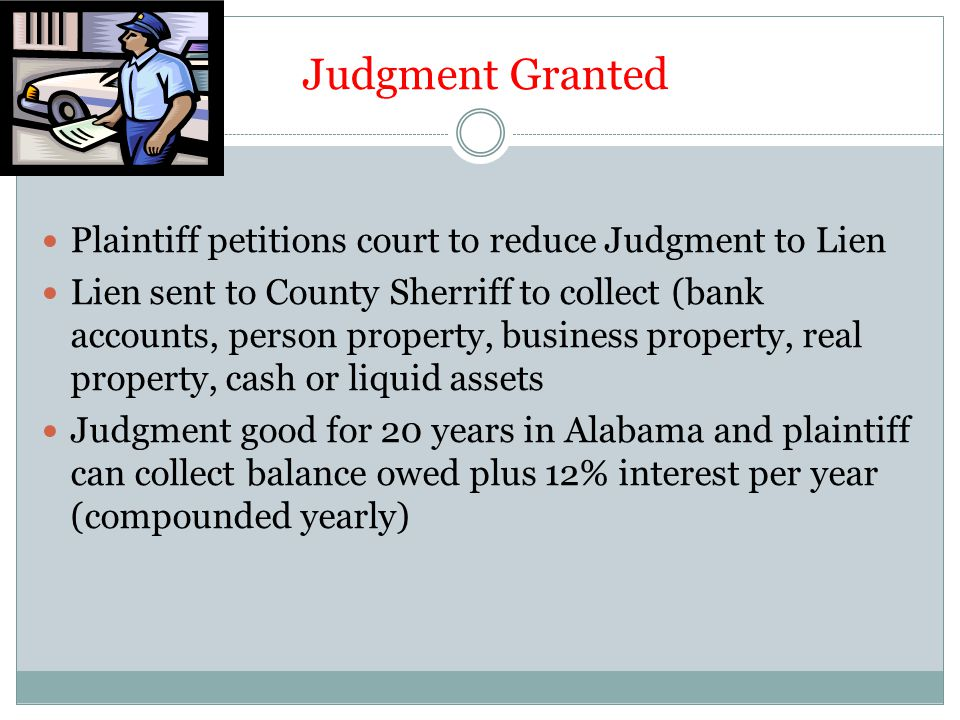 How They and Their Attorney Win They must persuade the Judge or the Jury that you are liable for the loss.