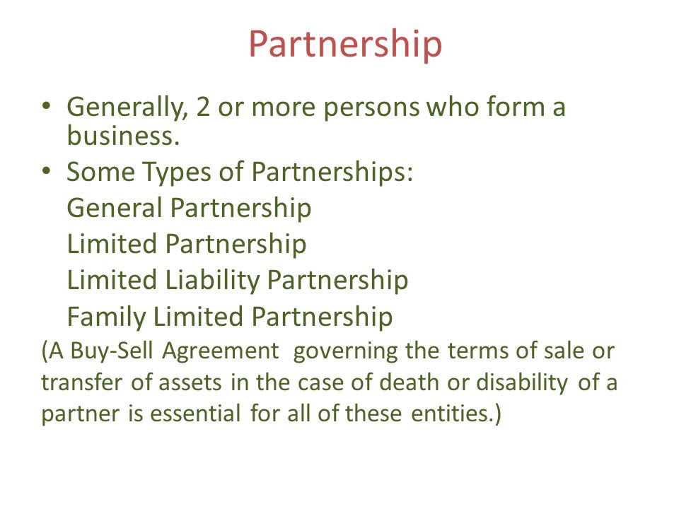 Types of ownership Real Property: Ownership is transferred via deed, which is a document granting ownership of land.