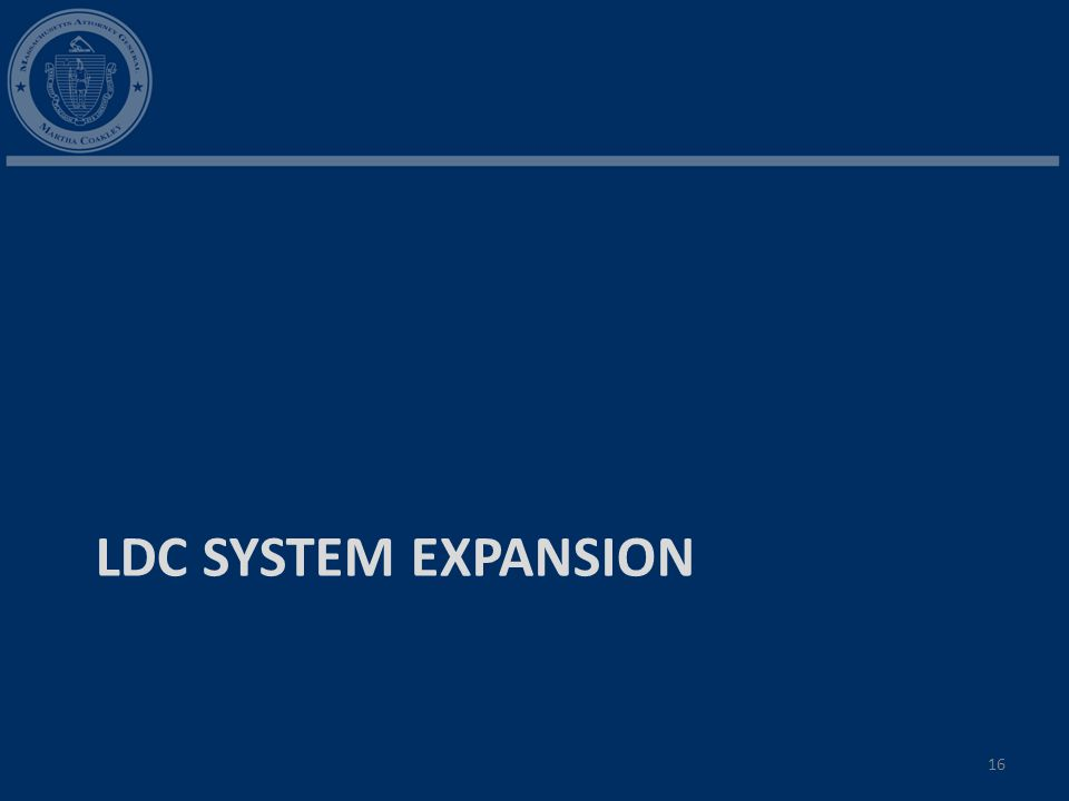 LDC SYSTEM EXPANSION 16