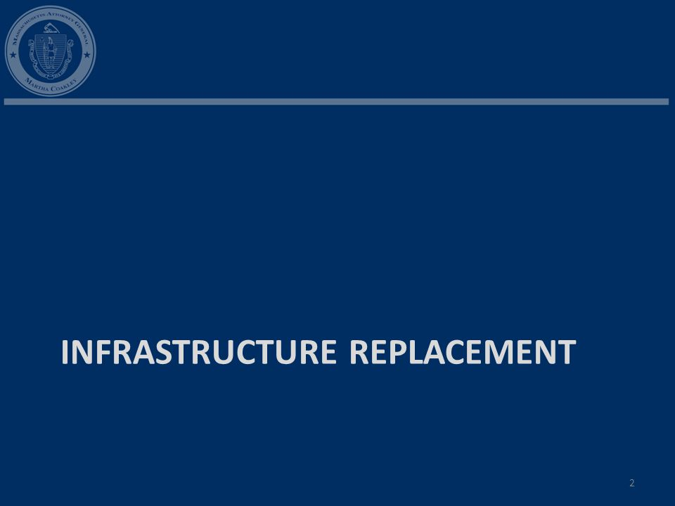 INFRASTRUCTURE REPLACEMENT 2