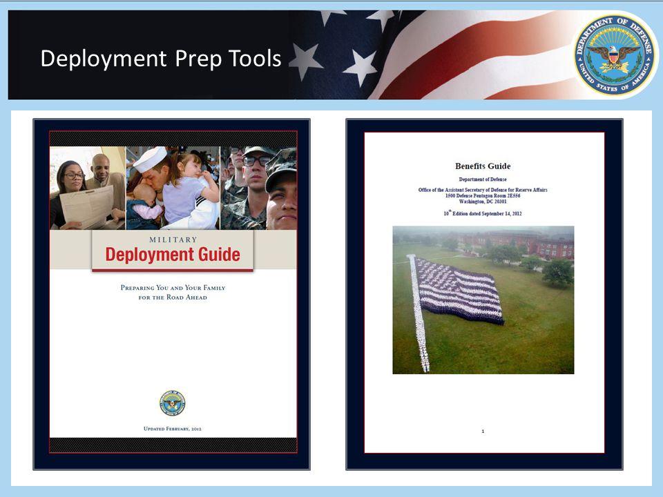 Deployment Prep Tools