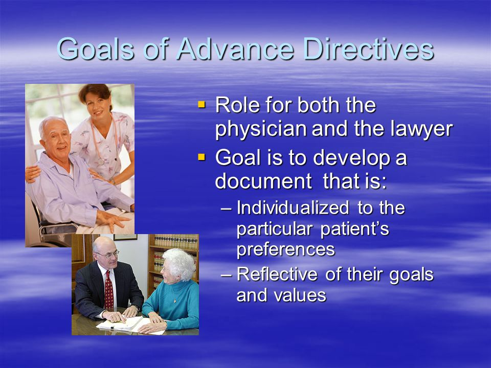 Personal Directives Act