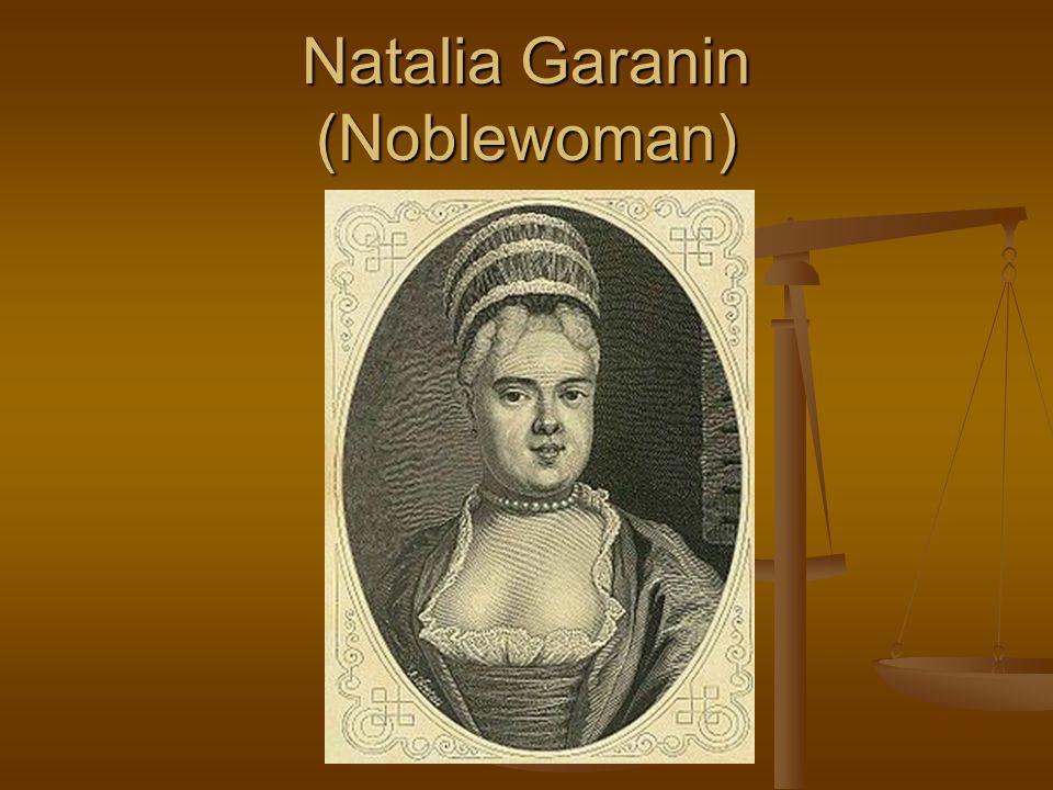 Natalia Garanin (Noblewoman)