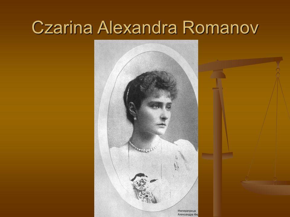 Czarina Alexandra Romanov