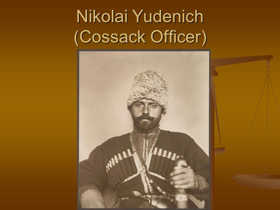 Nikolai Yudenich (Cossack Officer)