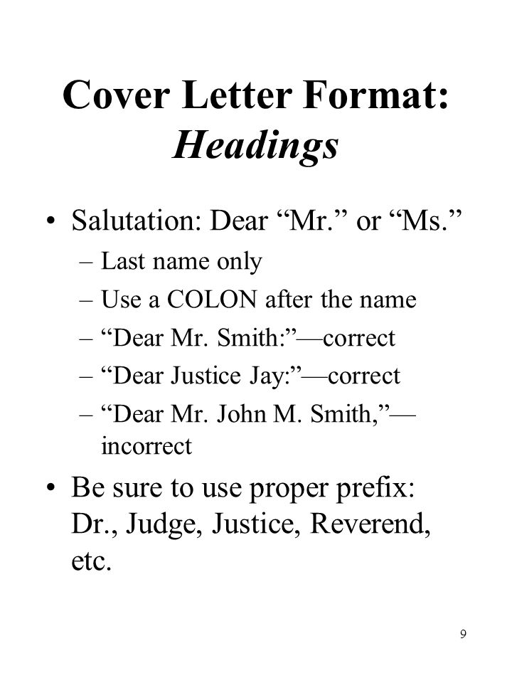 40 Final Cover Letter Checklist After writing your letter, use this CAN DO attitude to evaluate your work.
