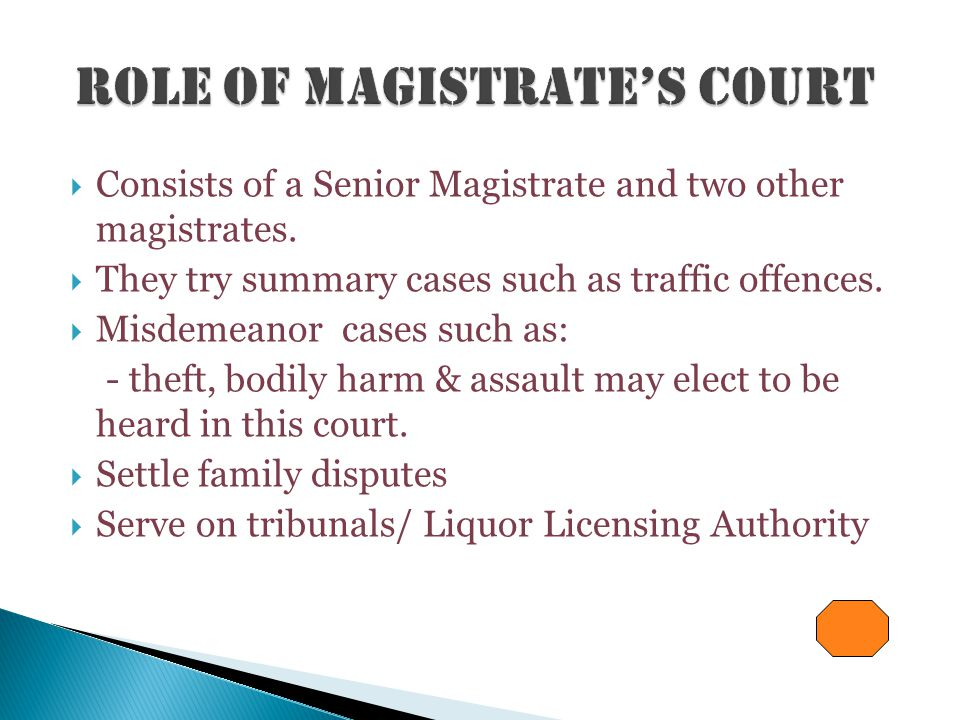  This court is held to determine the cause of a death or ship wreck in Bermuda's waters.  Magistrates and Registrars act as Coroners at the inquest.