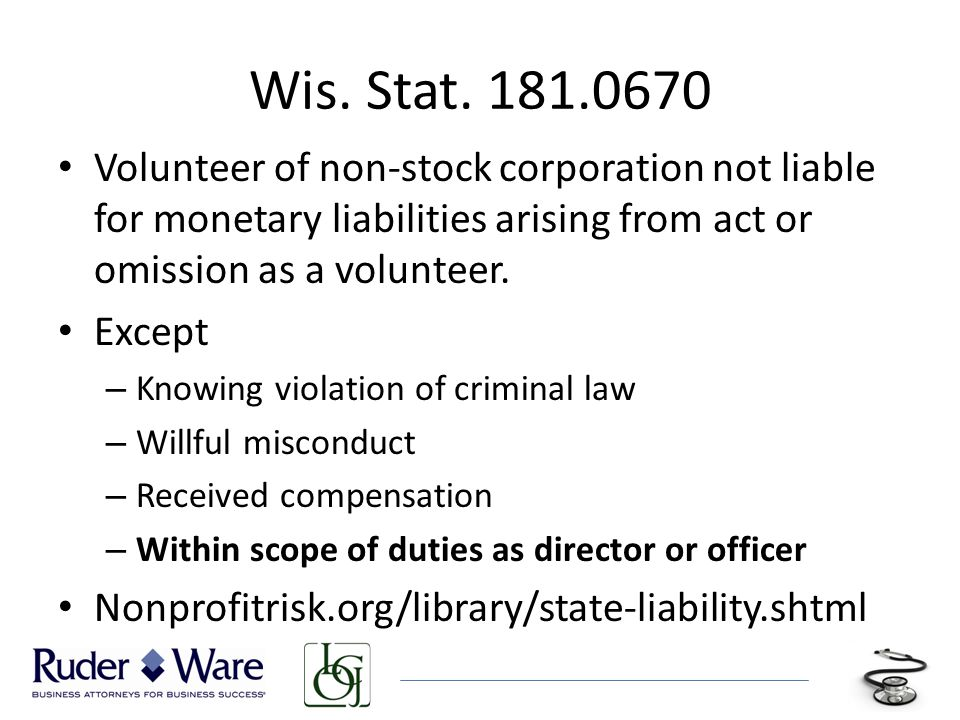 Wis. Stat.