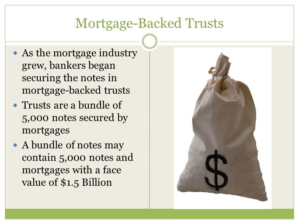 The History of Mortgages in America Bankers used to take the original note and mortgage and secure it in the bank vault.