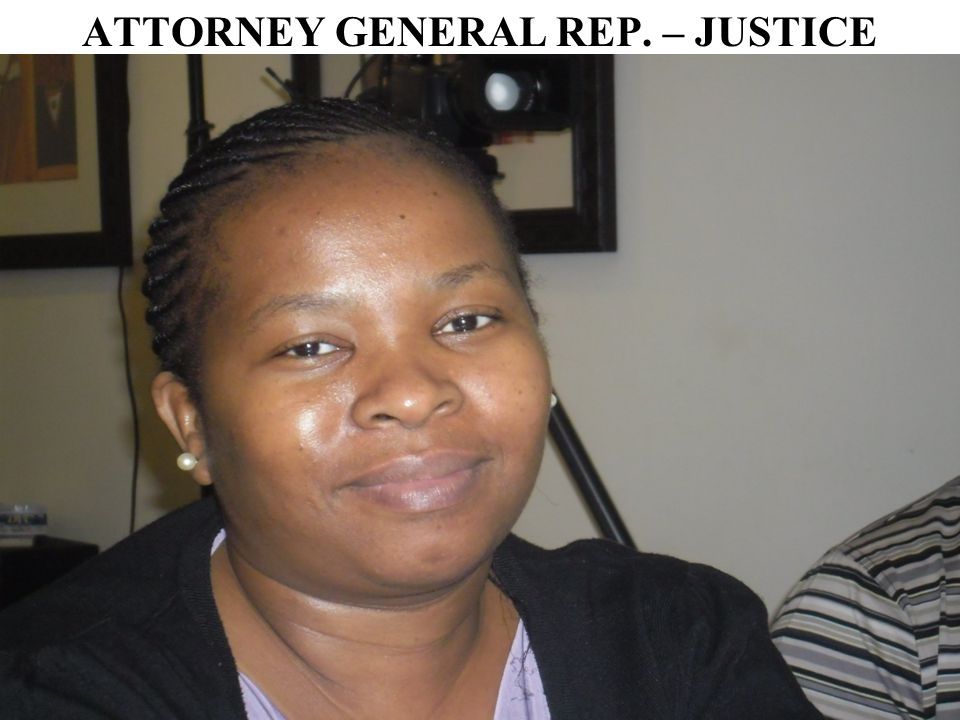 ATTORNEY GENERAL REP. – JUSTICE