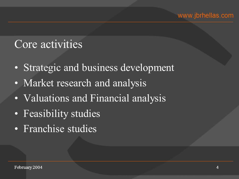 www.jbrhellas.com Business Entities An Overview
