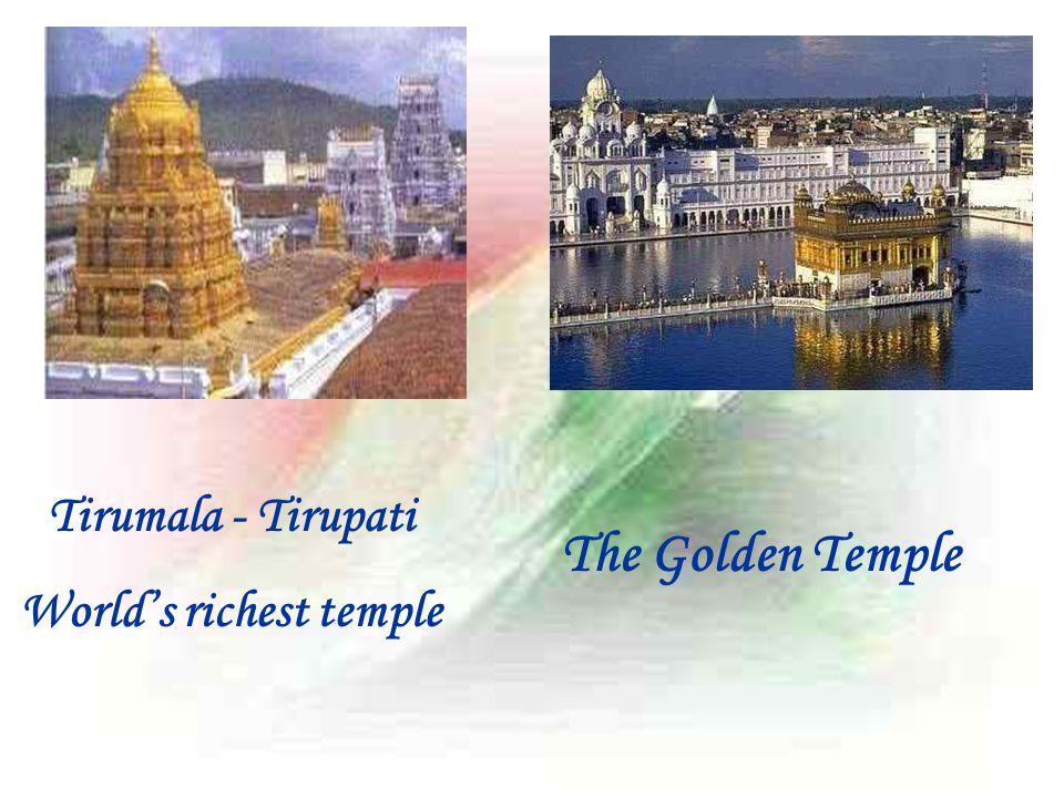 Tirumala - Tirupati World's richest temple The Golden Temple