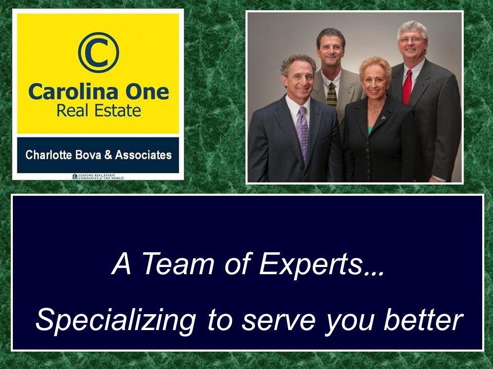 A Team of Experts... Specializing to serve you better