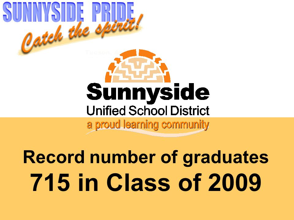 Record number of graduates 715 in Class of 2009