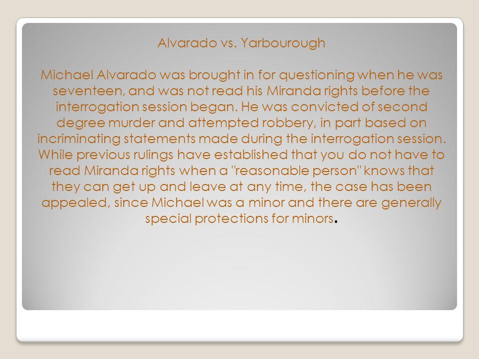 Alvarado vs.