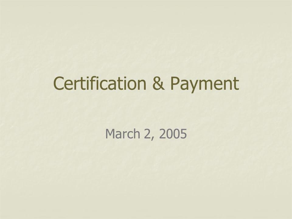 March 2, 2005 What happens next.